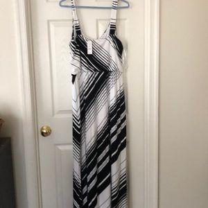 WHBM Integrity Maxi Dress